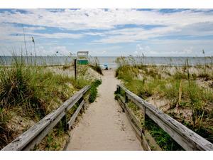 Beach Access Just Steps From Door
