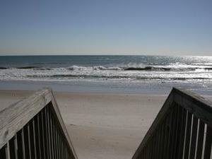 Beach view east