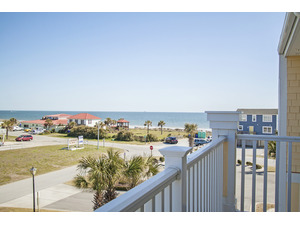 View to Ocean from Covered Porch
