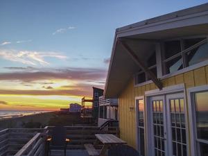 Exterior / Deck at Sunset