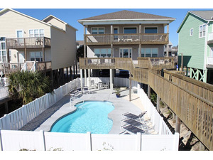 View of House and pool from walkway